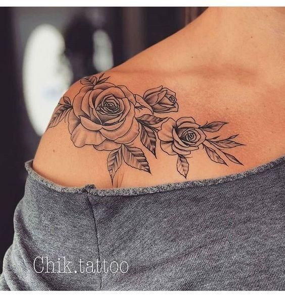Photo of 50+ shoulder tattoo for women – # women # for # shoulder tattoo https://tattoo.dessertpins.com #flowertattoos – flower tattoos