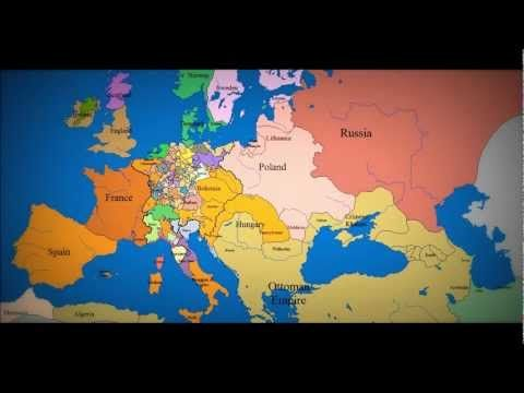 map of europe time lapse Epic time lapse map of Europe | Europe map, European history, Map