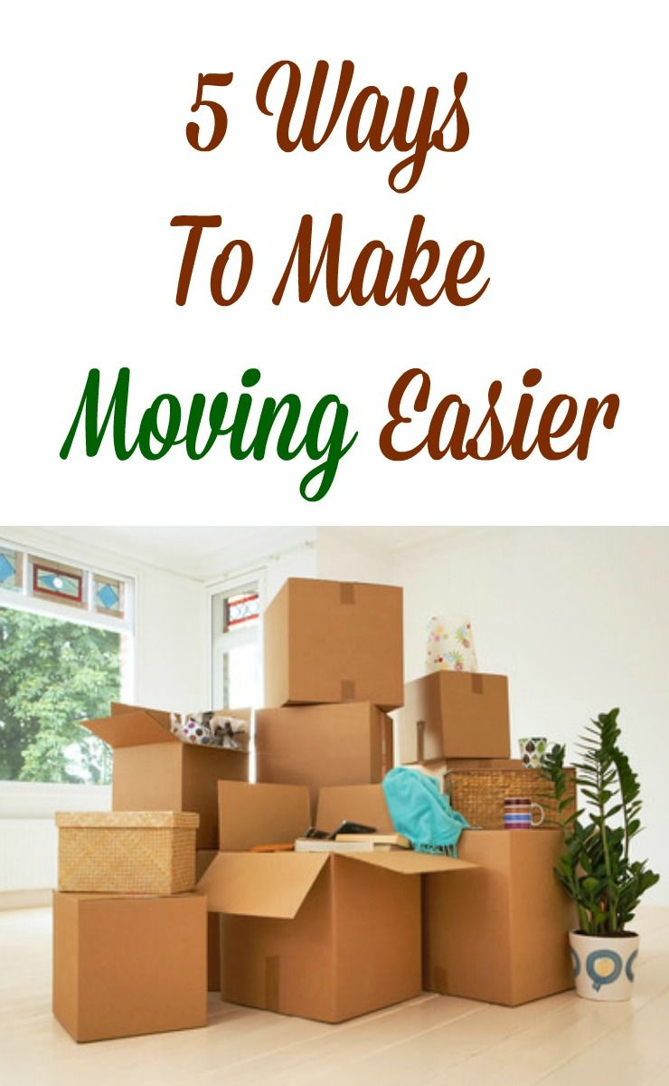 5 ways to make moving easier. #cortathome #ad