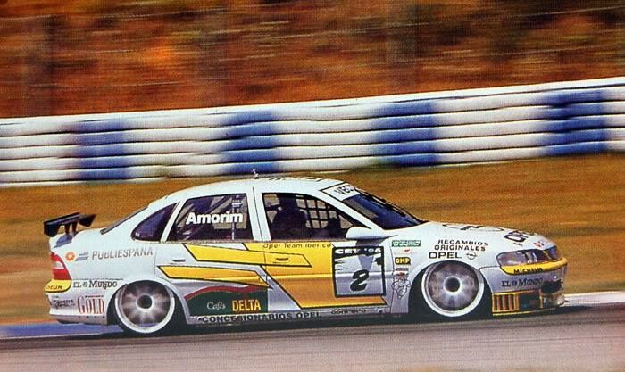 Colla Verglas Opel Vectra Btcc Race Cars