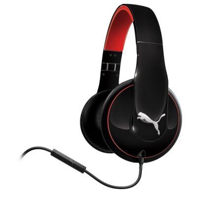 Puma Vortice Over-Ear Headphones - Black   Over ear headphone ...