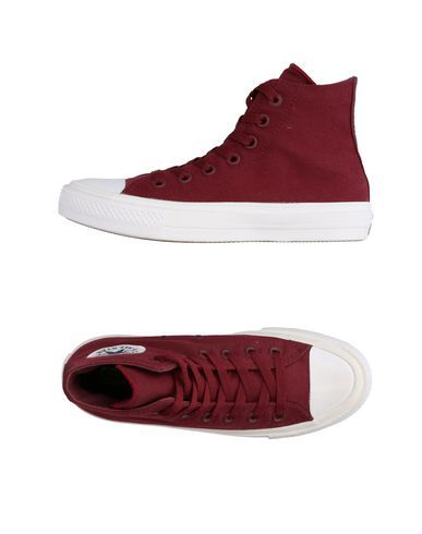 CONVERSE ALL STAR CHUCK TAYLOR II Women's High-tops & sneakers Maroon 8.5 US