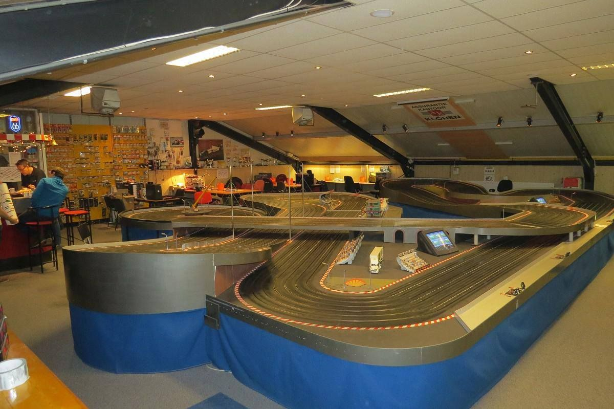 SRC Fastlane 170 Foot Carrera Slot car tracks, Slot cars