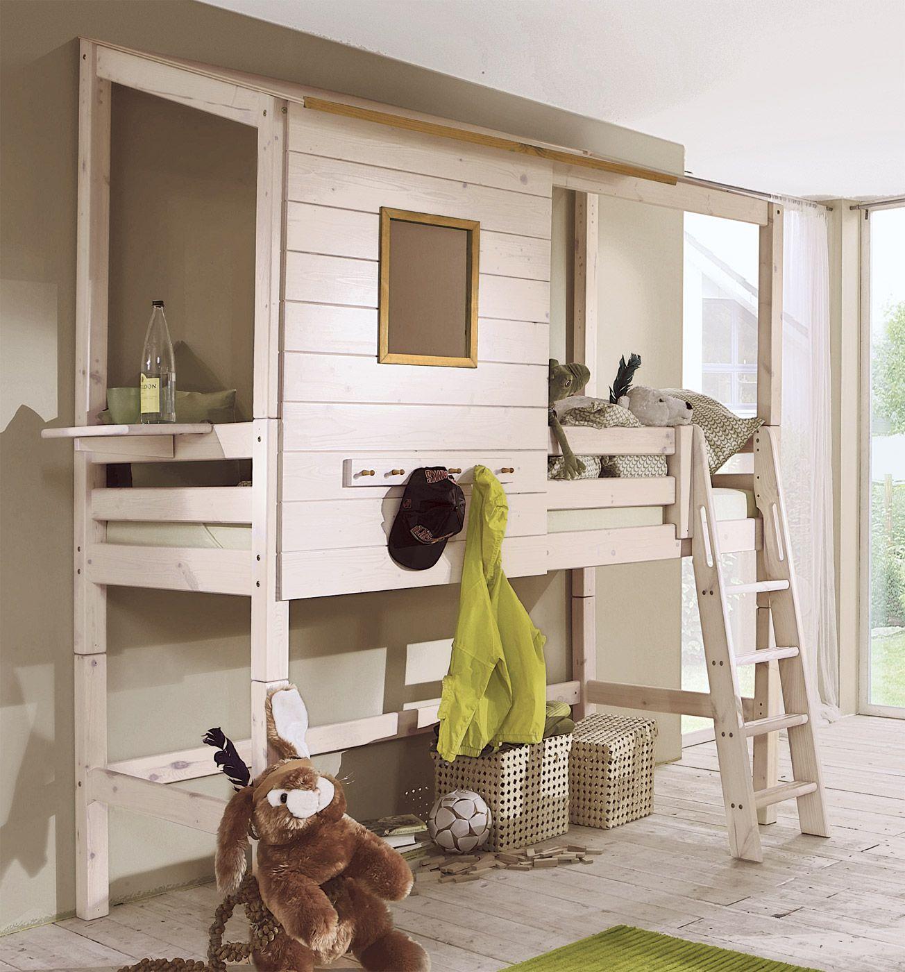 abenteuer hochbett kids paradise hochbetten abenteuer und holz. Black Bedroom Furniture Sets. Home Design Ideas