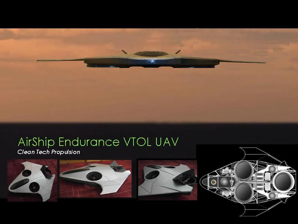 AirShip Technologies Group is developing the AirShip VTOL UAV