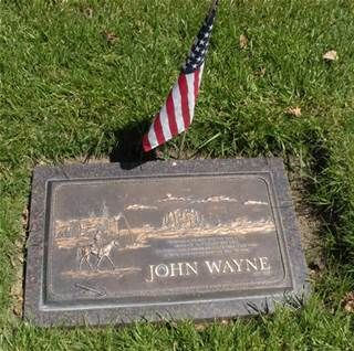Burial Sites Of The Stars Bing Images John Wayne John Wayne Movies John Wayne Quotes