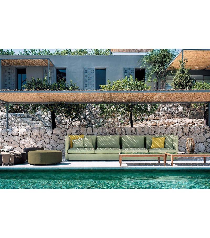 Double Roda Pouf Architecture Outdoor Sofa Outdoor Sectional Sofa