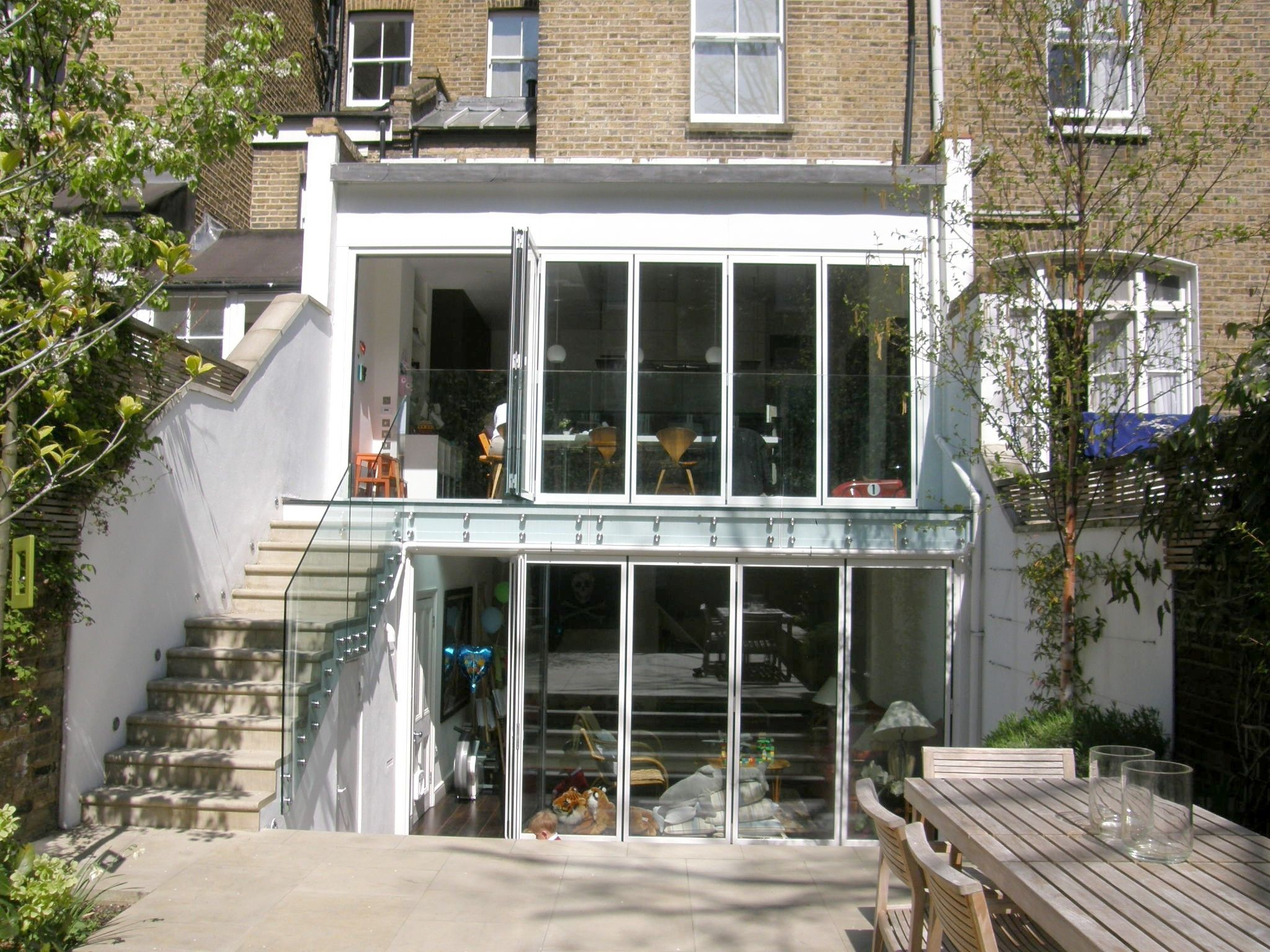 Two Storey Extension Victorian Terraced House In Barons