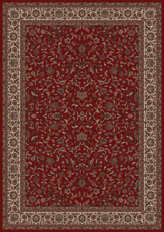 Persian Classics Oriental Kashan Red Area Rug