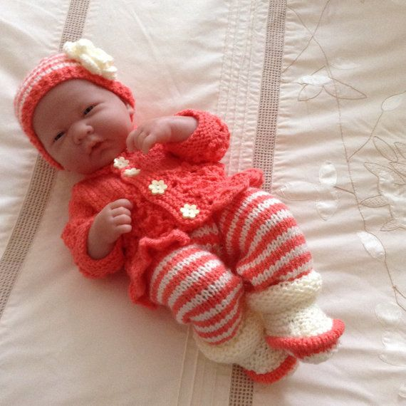 Hand Knitted Dolls Clothes To Fit 1415 By Handknittedbyme On Etsy