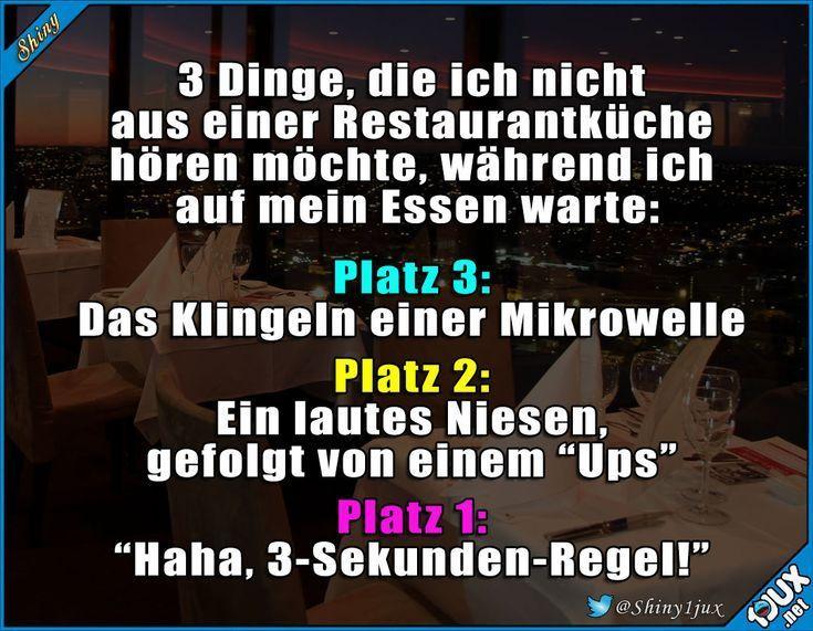Restaurantbesuch des Grauens #eklig #schwarzerHumor #Spruch #Witz #Witze - Entertainment #tumblrfunny