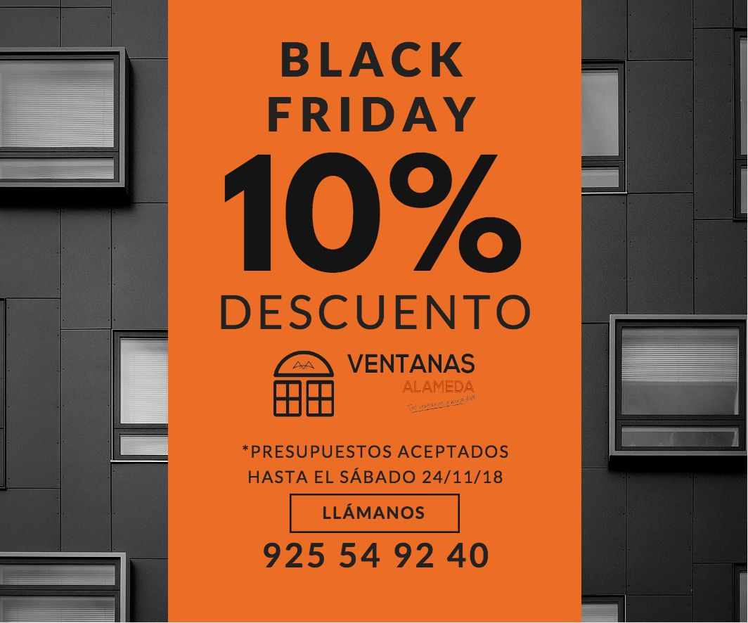 Black Friday Ventanas De Pvc Y Aluminio El Efecto Black Friday