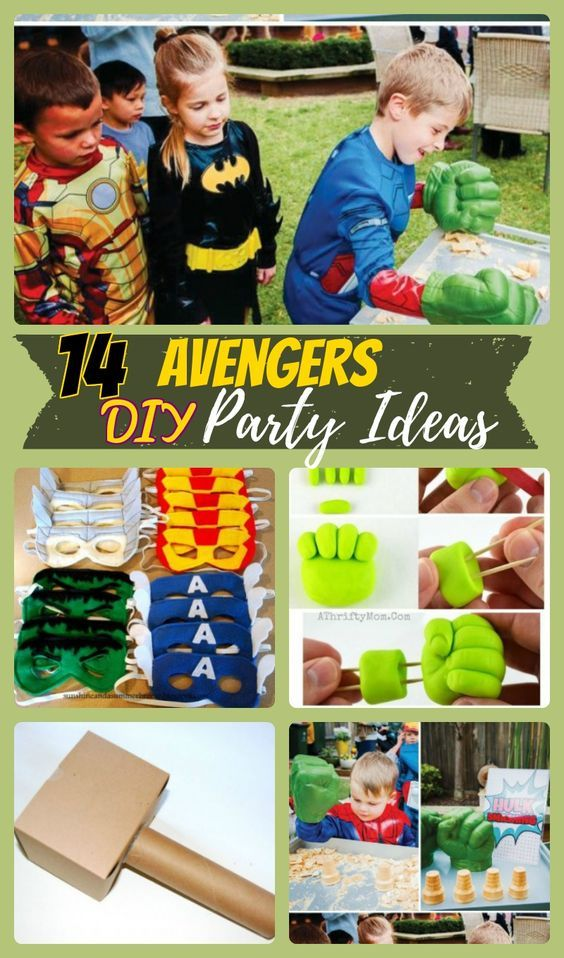 14 Avengers Birthday Party Ideas for Superhero Lovers Avengers