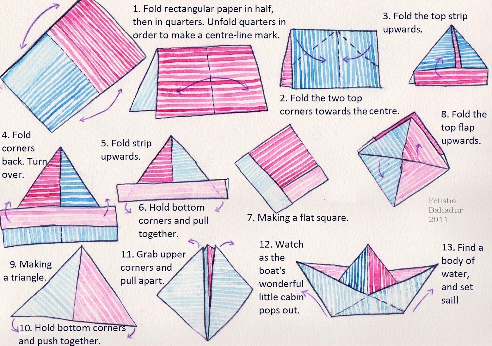 Make A Paper Boat