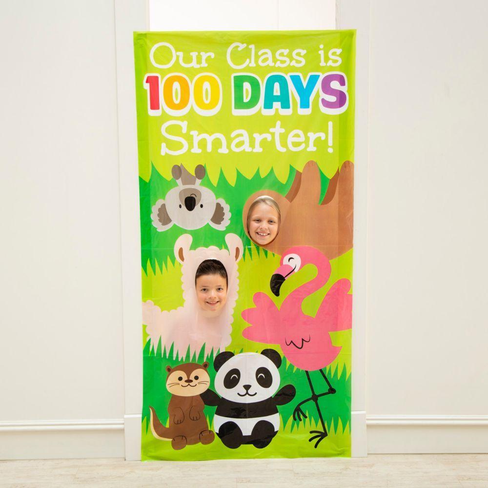 100th Day of School Photo Door Banner