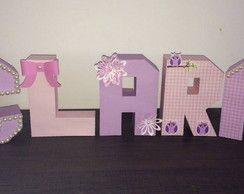 Letra 3D - Princesa | Nay Ateliê | Elo7