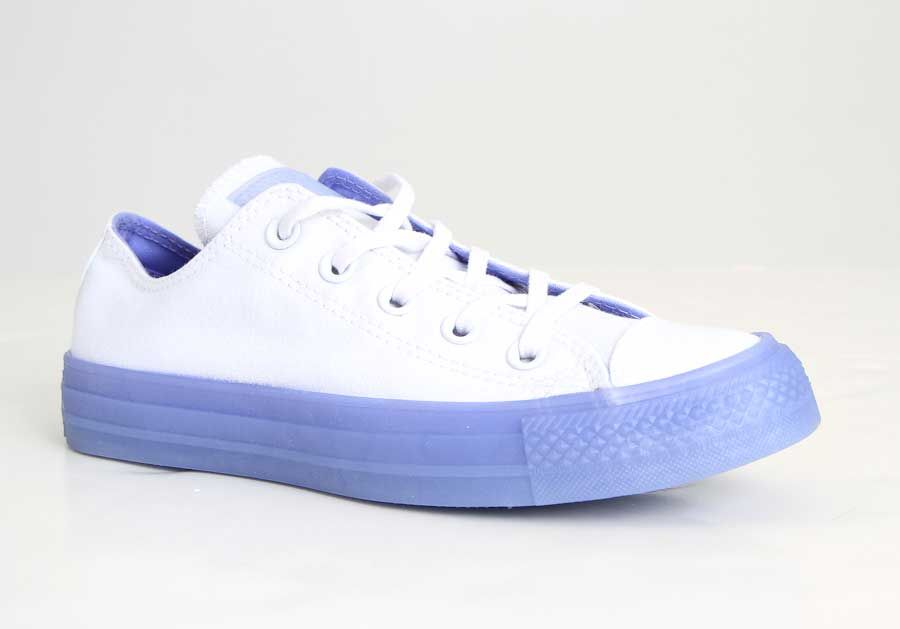4f5215aa7280 Converse Chuck Taylor All Star Shoes CTAS Translucent Jelly OX in Twilight  Pulse 560647C