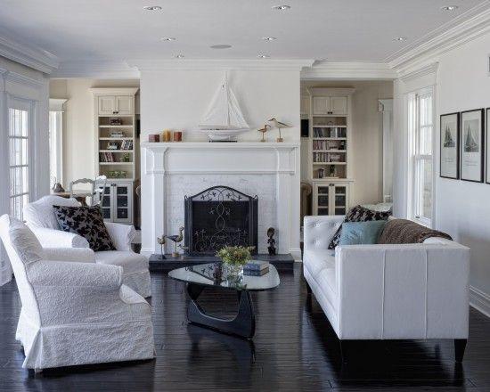 Living Room Cape Cod Design