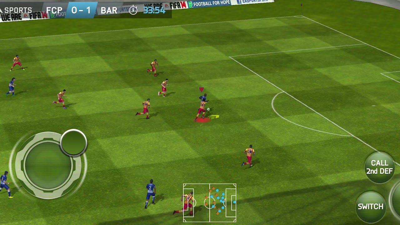 FIFA 14 Mobile REMASTER Manager Mode Barcelona