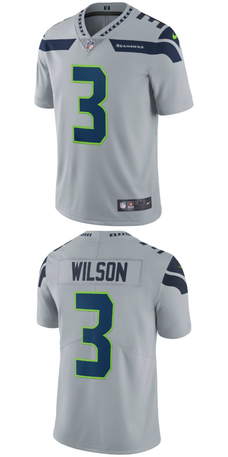 d655f5e5b Russell Wilson Seattle Seahawks Nike Vapor Untouchable Limited Player Jersey