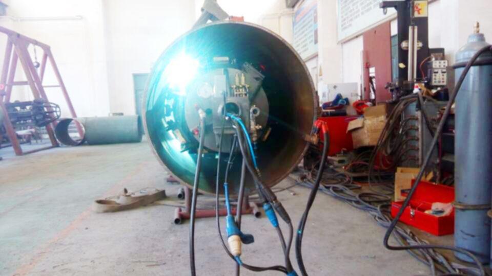 Our Internal Welding Machine In Wpqt Process In Cnpc For Russia Sino Oil Pipeline Project Ii Congradulations Luoyang Welding Machine Welding Pipeline Project