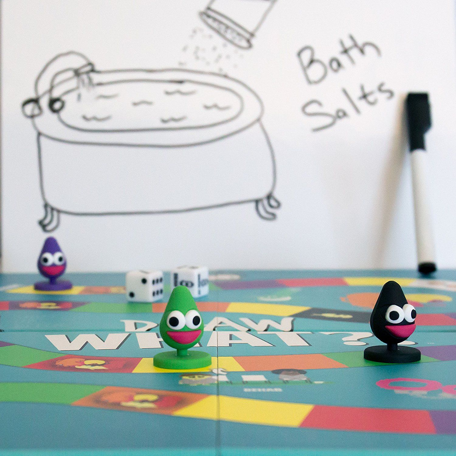 Draw What?! Fun Adult Party Board Game Board games