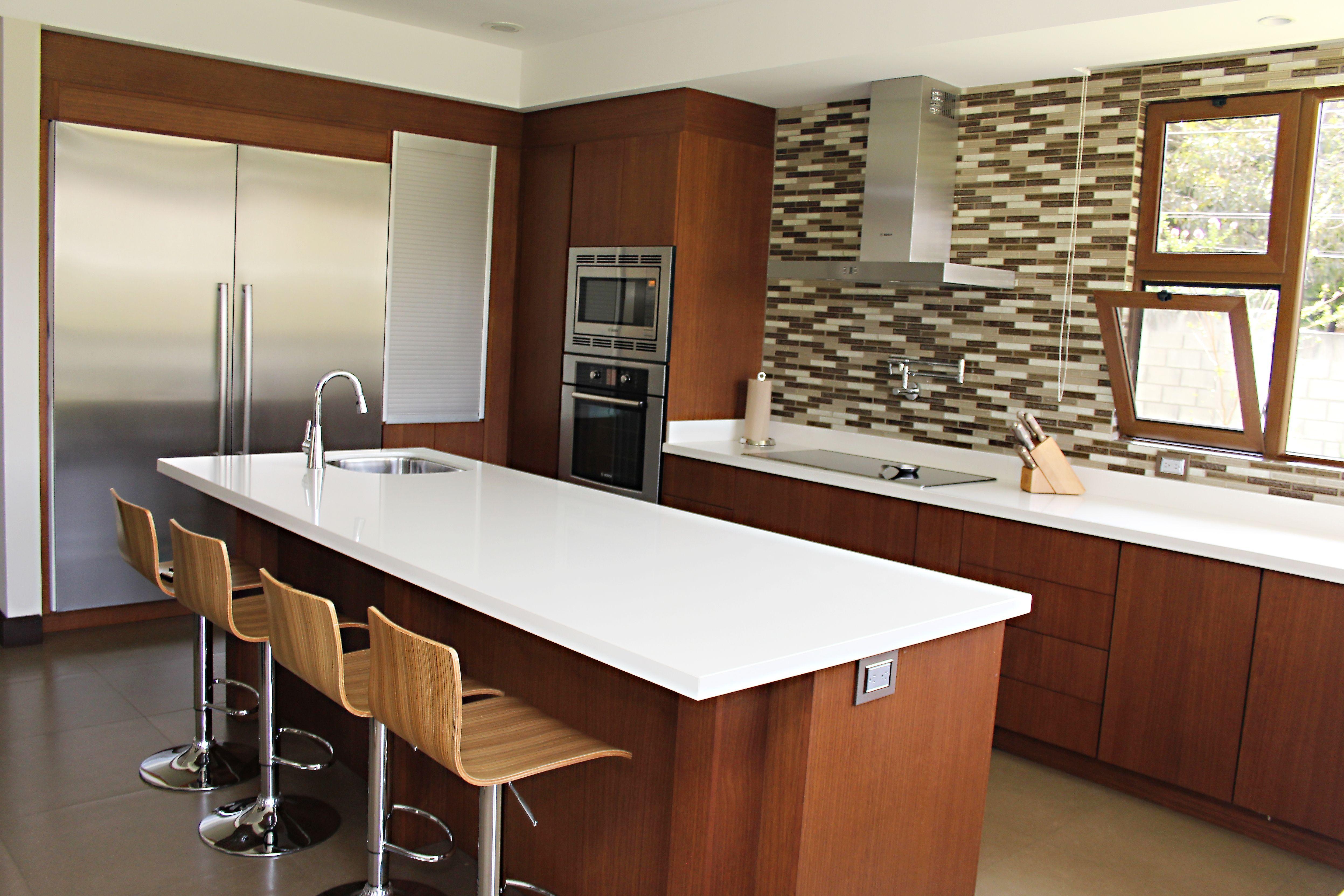 Cocina con nuestros electrodomesticos bosch y el enchape - Cocina con electrodomesticos ...