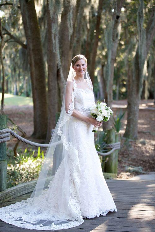 A Formal Southern Wedding in Savannah, Georgia | Čipka, Blog a Nevesty