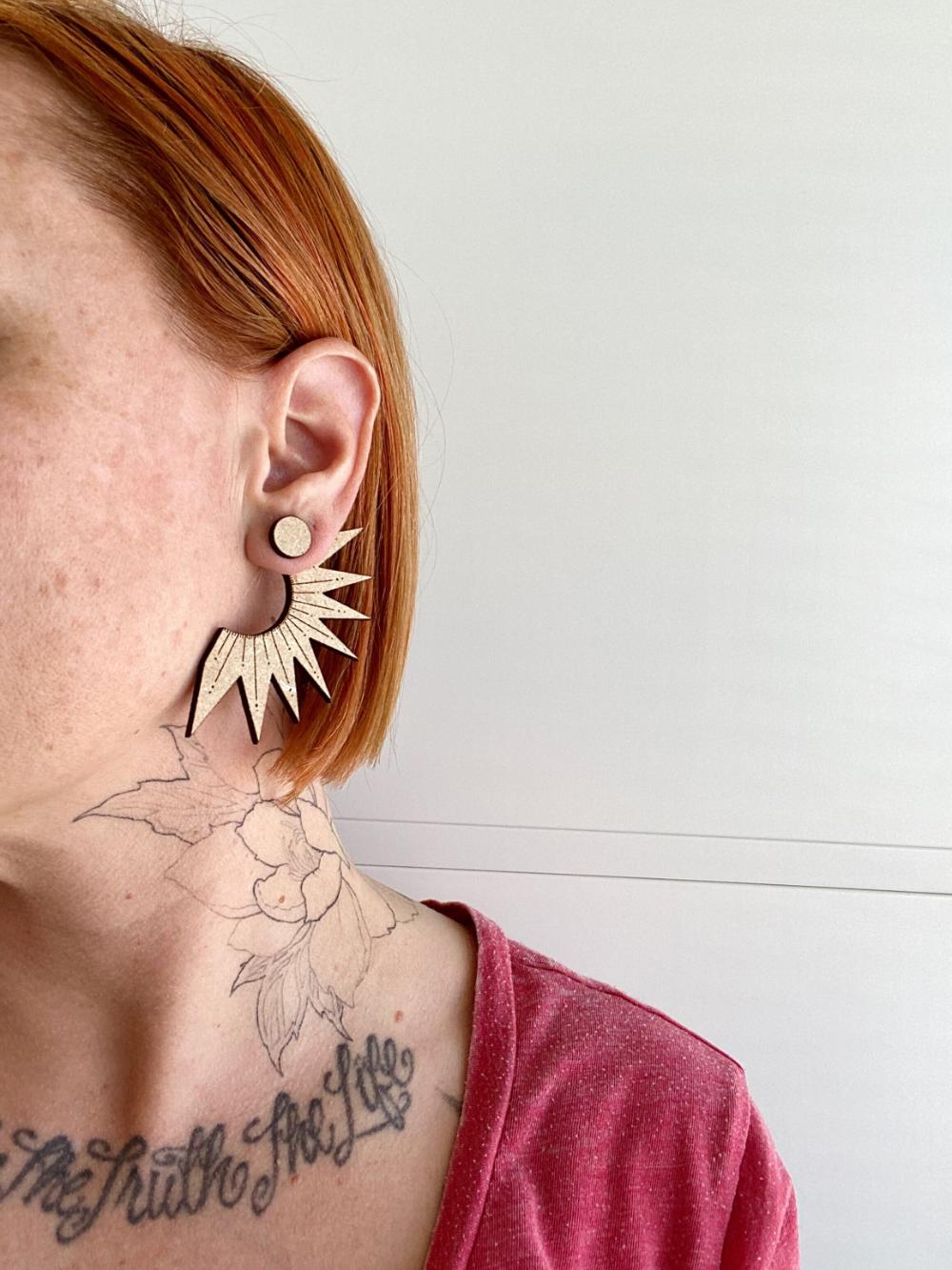 Sun Ray, Ear Jacket Earring 40 — Sigfus in 2020 Ear
