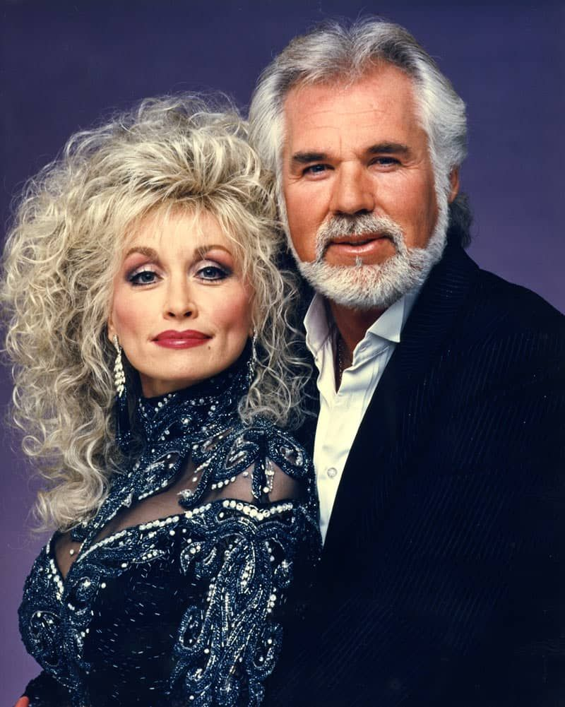 """Kenny Rogers & Dolly Parton """"Islands in the Stream ..."""