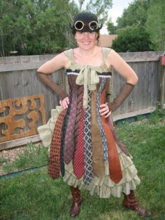 pinstandbylisa on tie dress with images  steampunk