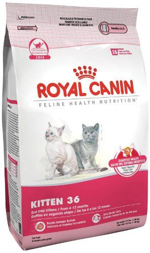 Royal Canin Kitten Dry Cat Food 15 Pound Bag Dry Cat Food Cat Food Kitten Food