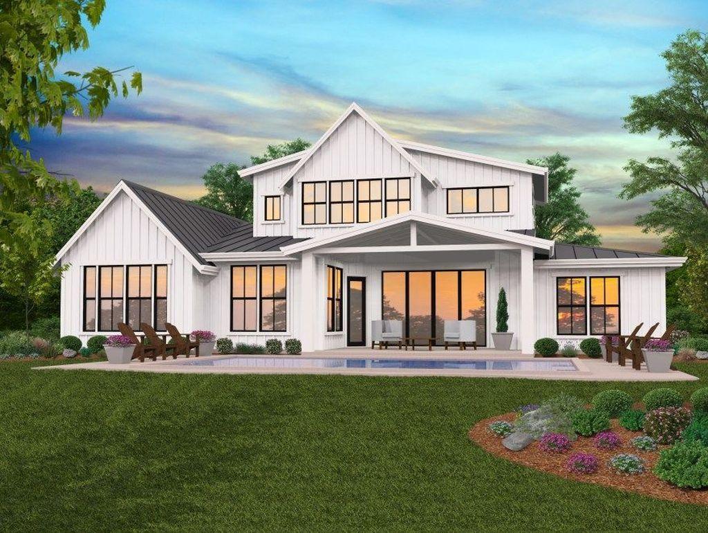 20 Unique Farmhouse Plans Remodel Design Ideas For Now Modern Farmhouse Plans Modern Farmhouse Floorplan Modern Farmhouse Floors