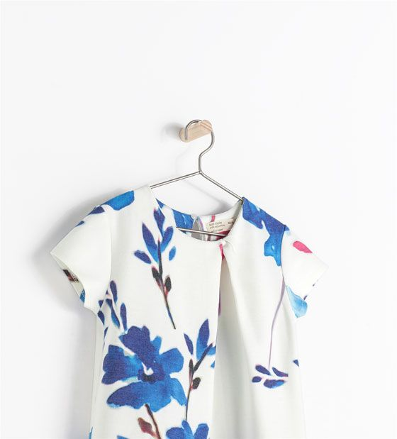 ZARA - KIDS - FLOWER PRINT DRESS
