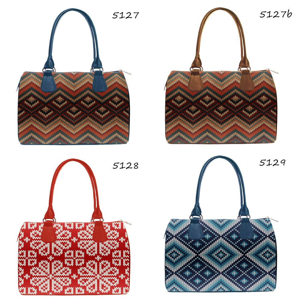 Catalogue: Ladies Designer Printed Handbags, Fabric Barrel Bags for Women,  Fashionable Handbags for