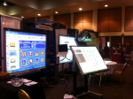 Demonstration of SMART Board for education, and special education, at the recent CUE conference in Palm Springs. . .