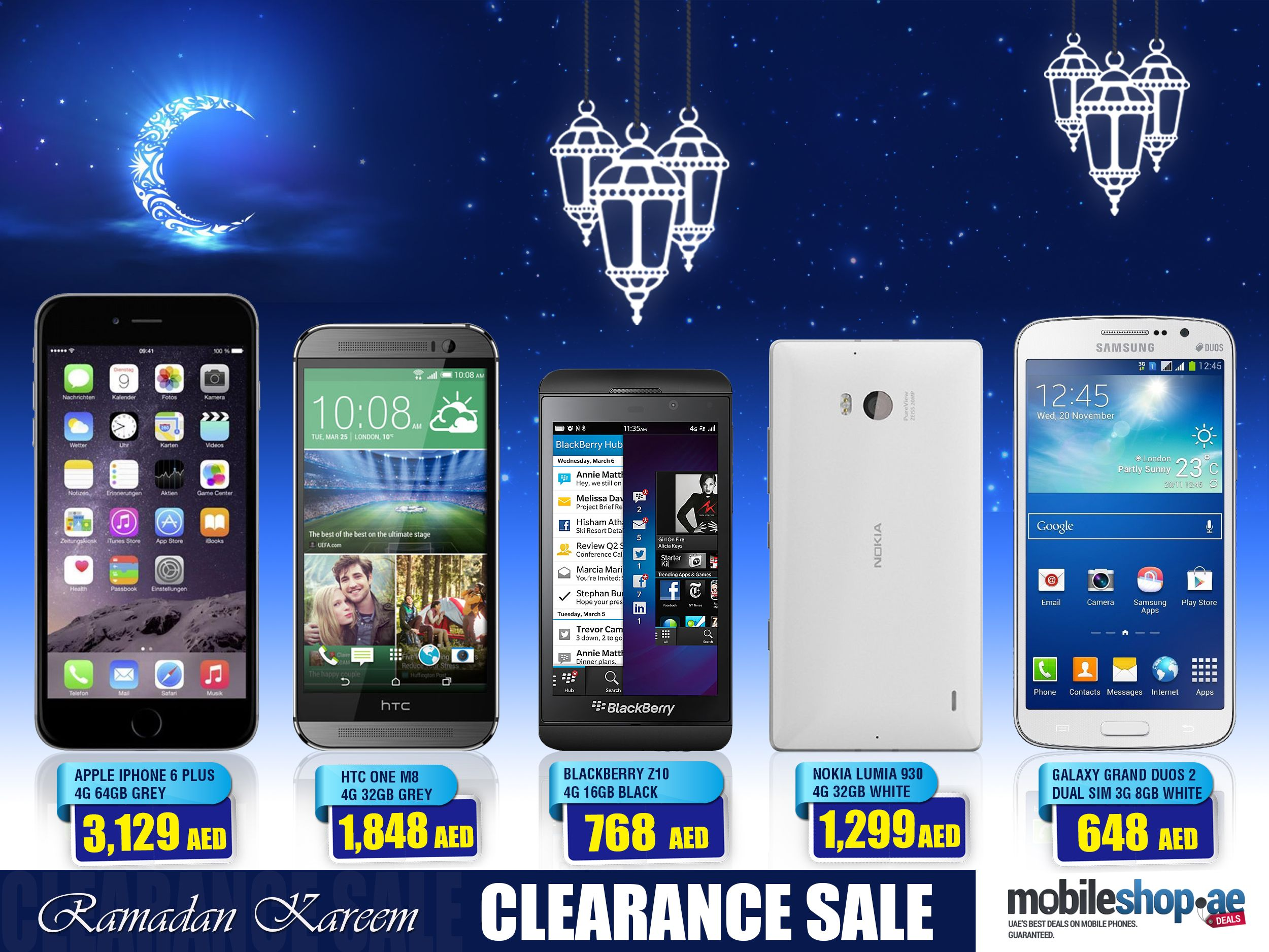Special Offer This RAMADAN Season... http://mobileshop.ae/clearance-sale?page=1
