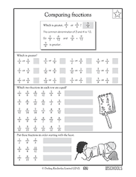Image Result For Quantitative Reasoning Worksheet Comparing Fractions 4th Grade Math Worksheets Fractions