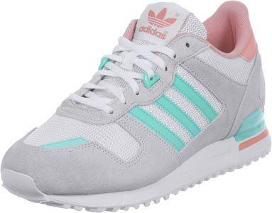 35b0cdefb Adidas ZX 700 W Schuhe grau türkis