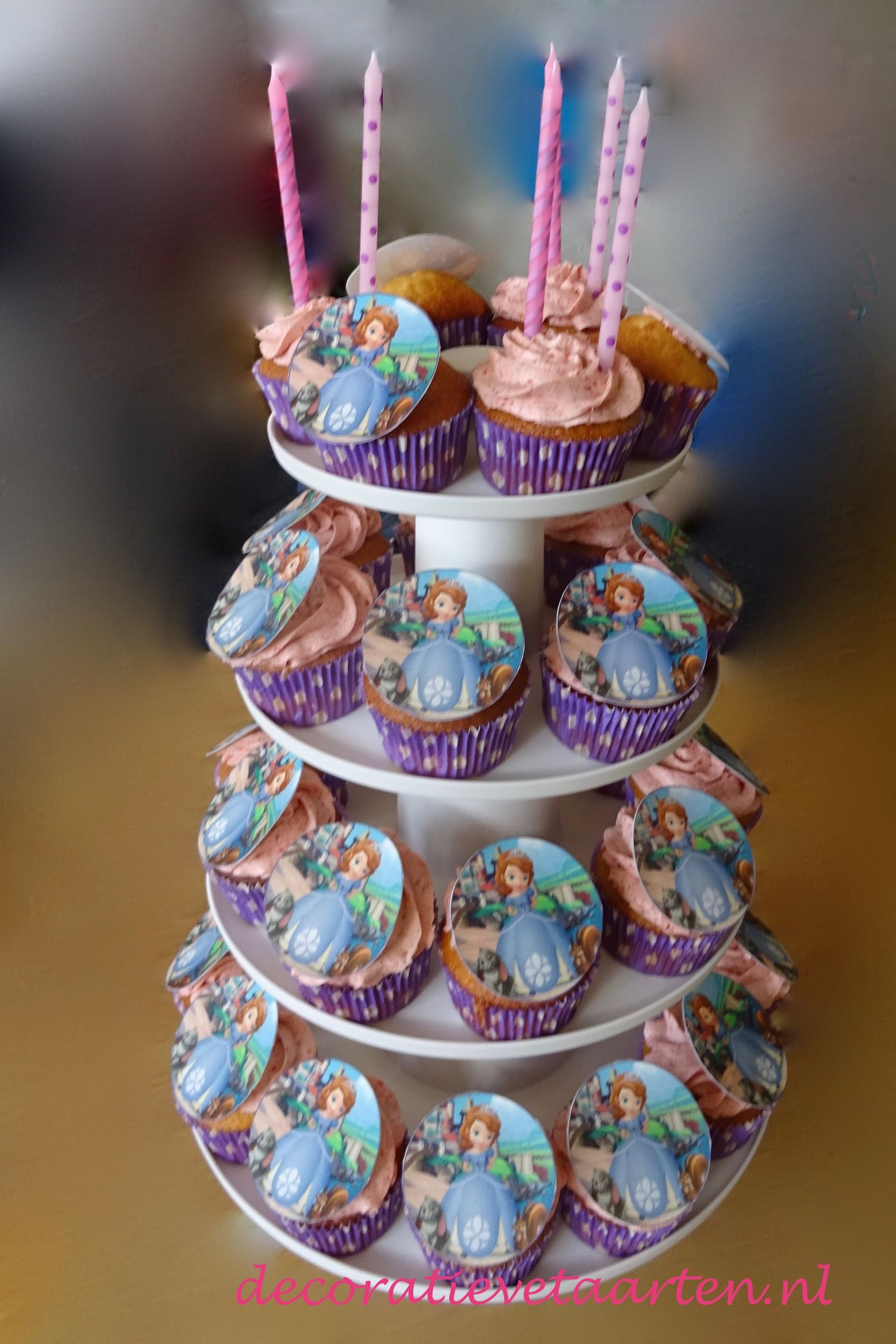 Cupcakes sofia the first cupcakes feestjes fotoboeken