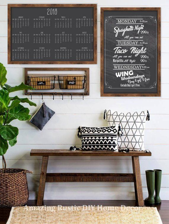 Kitchen Design 11x13 Room: 20 Incredible Hacks For Rustic Home Decor: 1. Simple House