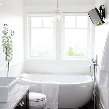 egg shaped tub   white bathroom designs, small bathroom