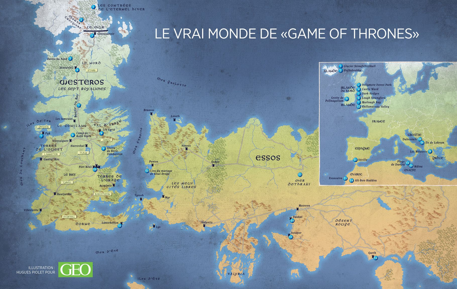where were shot the romantic landscapes of game of thrones geo magazine unveils the real