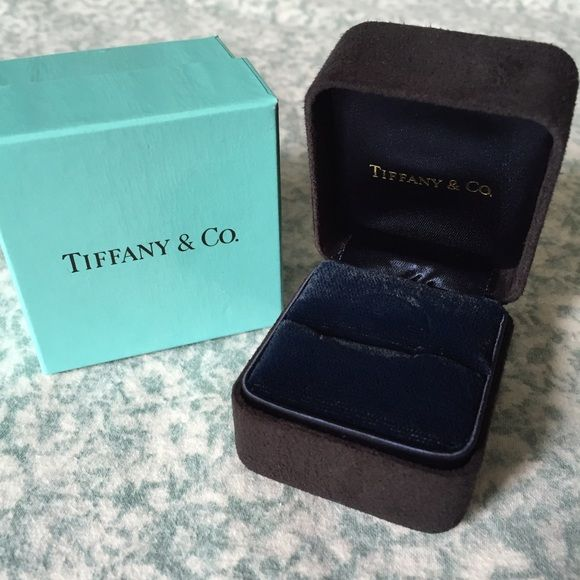 Tiffany Co Ring Box