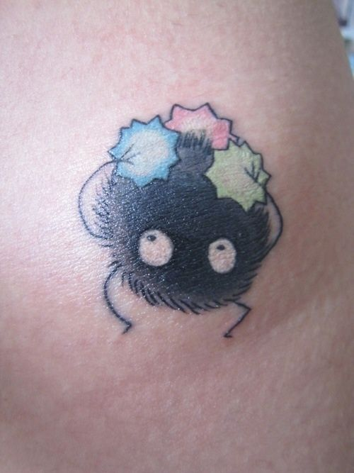 Squeee Soot Sprites From Spirited Away Spirited Away Tattoo Tattoos Ghibli Tattoo