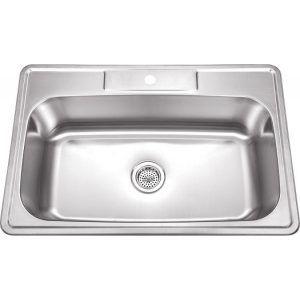 33 x 22 single bowl stainless steel kitchen sink 33 x 22 single bowl stainless steel kitchen sink   http      rh   pinterest com