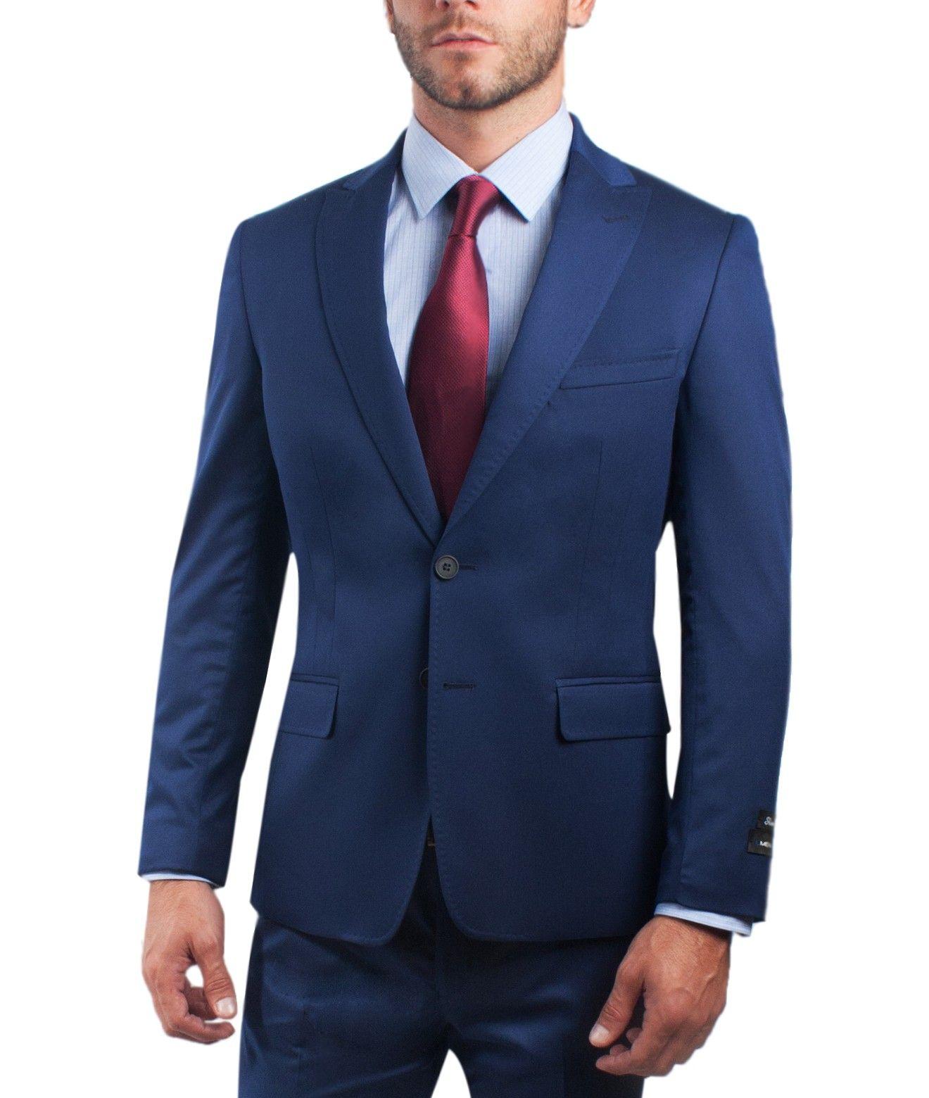calidad de marca compra especial mejor calidad Traje Lmental Azul … | Trajes | Traje azul hombre, Trajes ...
