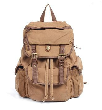 Canvas Backpack YES please