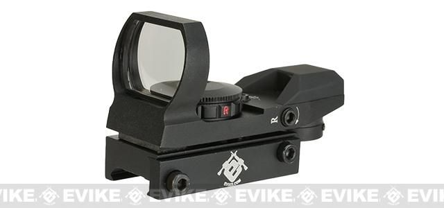 Evike Panorama Red/Green Dot with Warfare Reticles - Black