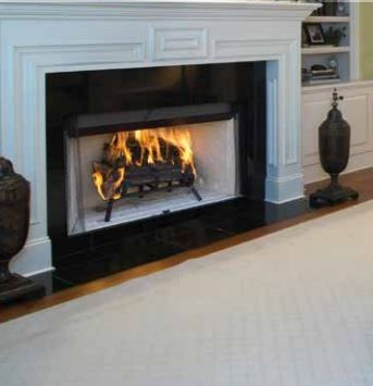 Superior Wrt3042 Pro Series 42 Insulated Radiant Wood Burning Fireplace With Images Wood Fireplace Wood Burning Fireplace